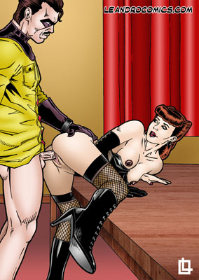 Comedian fucking the Silk Spectre