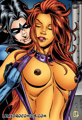 Nightwing want sex with Starfire Starfire looks so insanely hot; ...