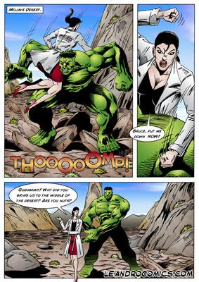 Hulk xxx comics