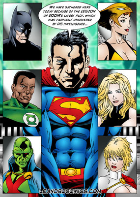 Justice League xxx comics